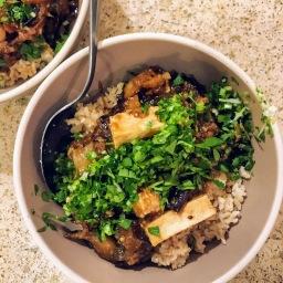 Szechwan Eggplant & Tofu