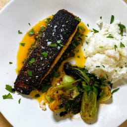 Crispy-Skin Salmon