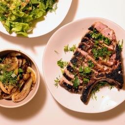 Fennel-Rubbed Pork Chops